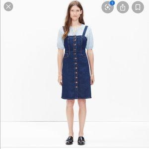 Madewell Overall Dress in Matilda Wash